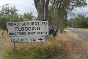 Seeking 'signs' of flooding during Australian summer