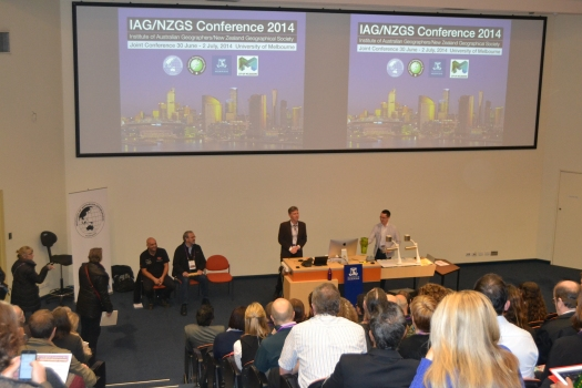 Presentation at 2014 IAG, Melbourne